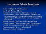 insomnie fatale familiale