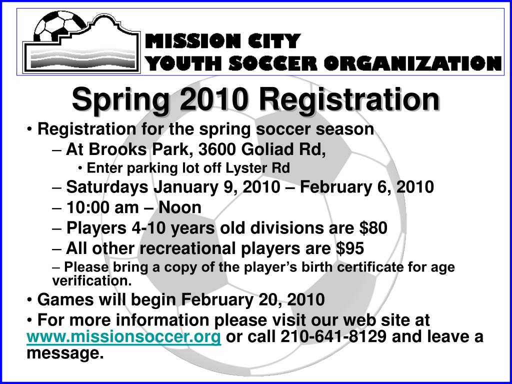 spring 2010 registration l.