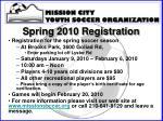 spring 2010 registration2