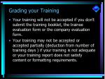 grading your training29