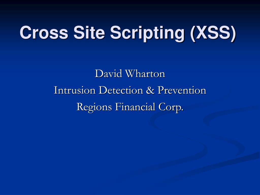 cross site scripting xss l.