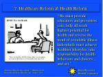 7 healthcare reform health reform