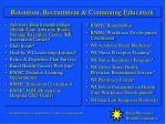 retention recruitment continuing education