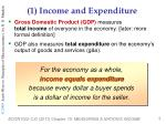 1 income and expenditure