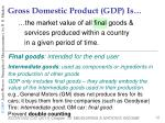 gross domestic product gdp is13