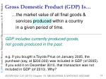 gross domestic product gdp is15