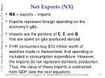 net exports nx