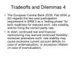 tradeoffs and dilemmas 4