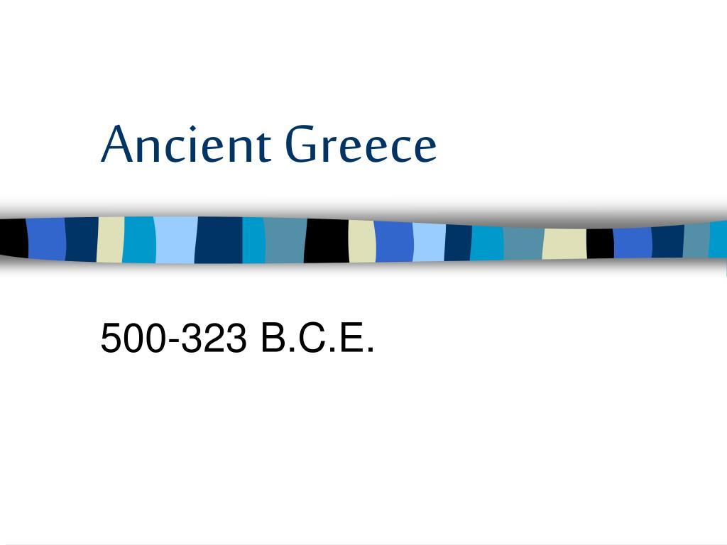 ancient greece l.
