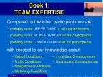 book 1 team expertise49