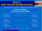 book 2 risk factor rating scales