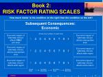 book 2 risk factor rating scales50