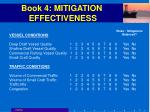 book 4 mitigation effectiveness