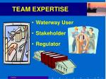 team expertise