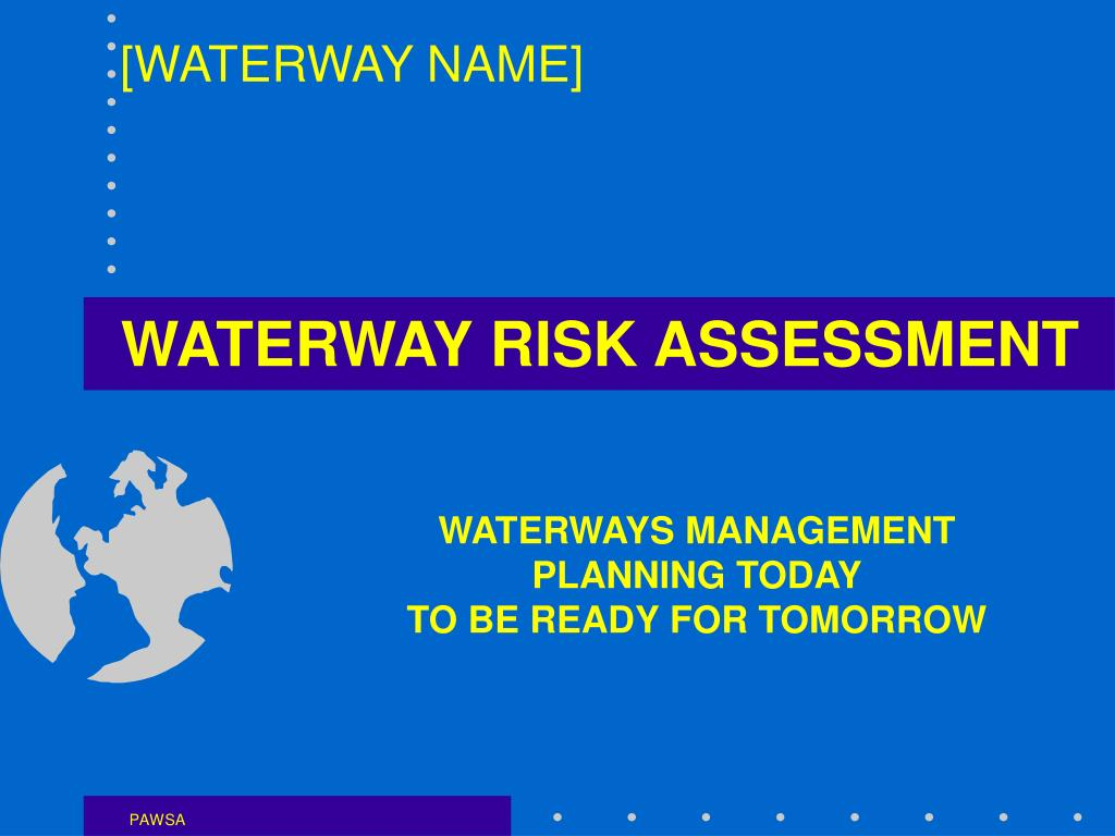 waterway risk assessment l.