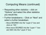 computing means continued