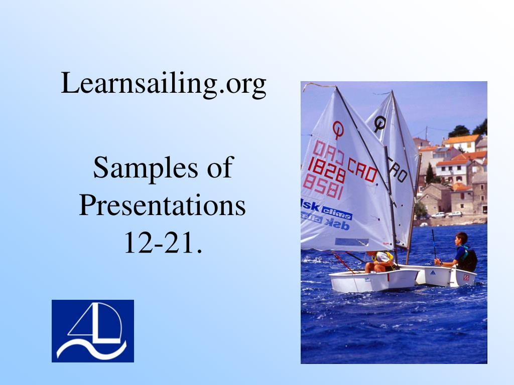 samples of presentations 12 21 l.