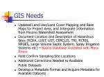 gis needs