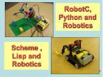 robotc python and robotics