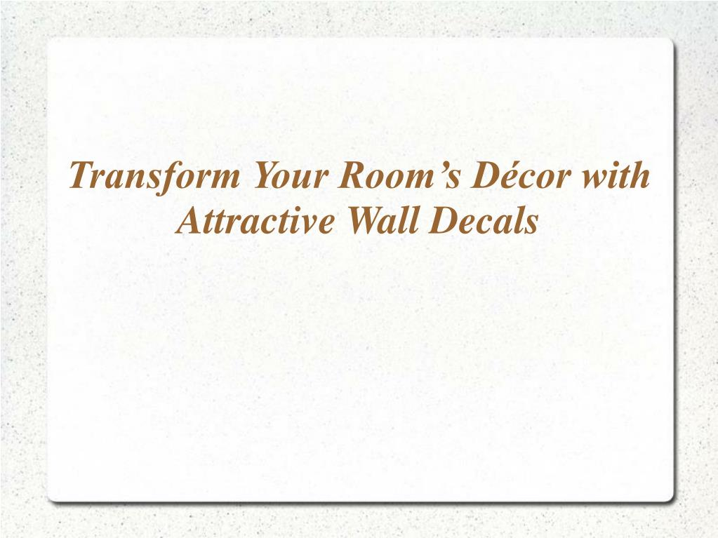transform your room s d cor with attractive wall decals l.