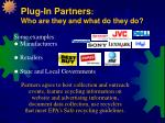 plug in partners who are they and what do they do