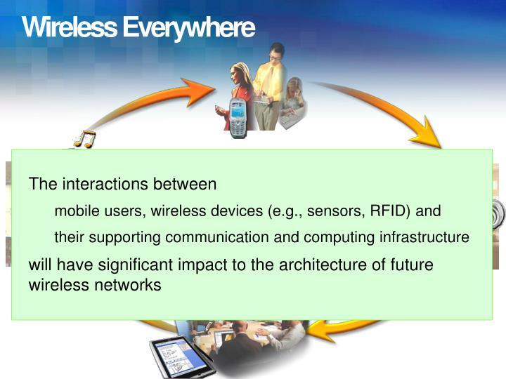Wireless everywhere