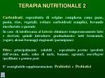 terapia nutritionale 2