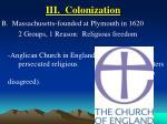 iii colonization13