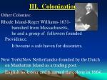 iii colonization18