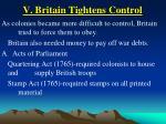 v britain tightens control32