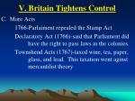 v britain tightens control34