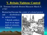 v britain tightens control35