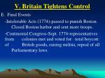 v britain tightens control37