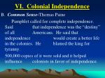 vi colonial independence39