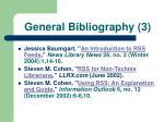 general bibliography 3