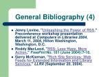 general bibliography 4