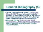 general bibliography 5