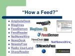 how a feed50