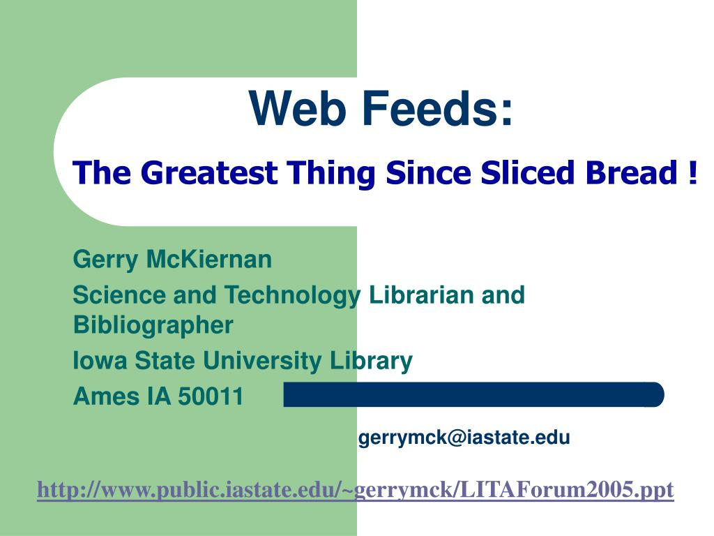 web feeds l.