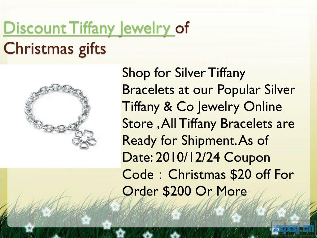 discount tiffany jewelry of christmas gifts l.