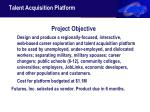 talent acquisition platform
