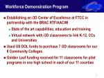 workforce demonstration program22
