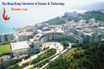 the hong kong university of science technology