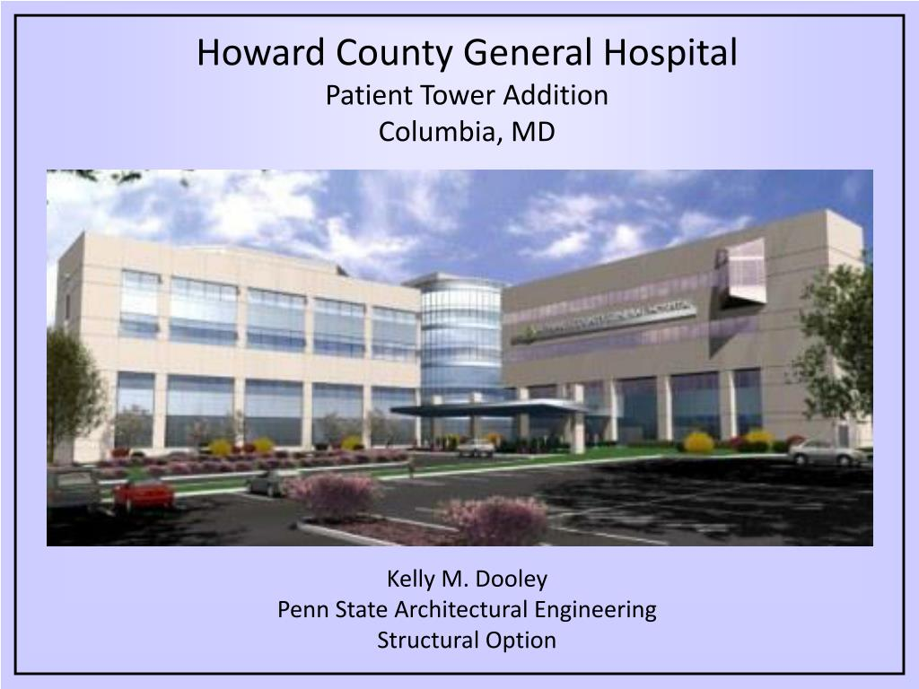 howard county general hospital patient tower addition columbia md l.