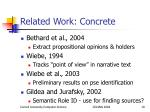 related work concrete