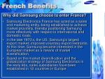 french benefits
