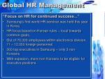 global hr management