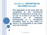 section 17 1 definition of salaries includes22