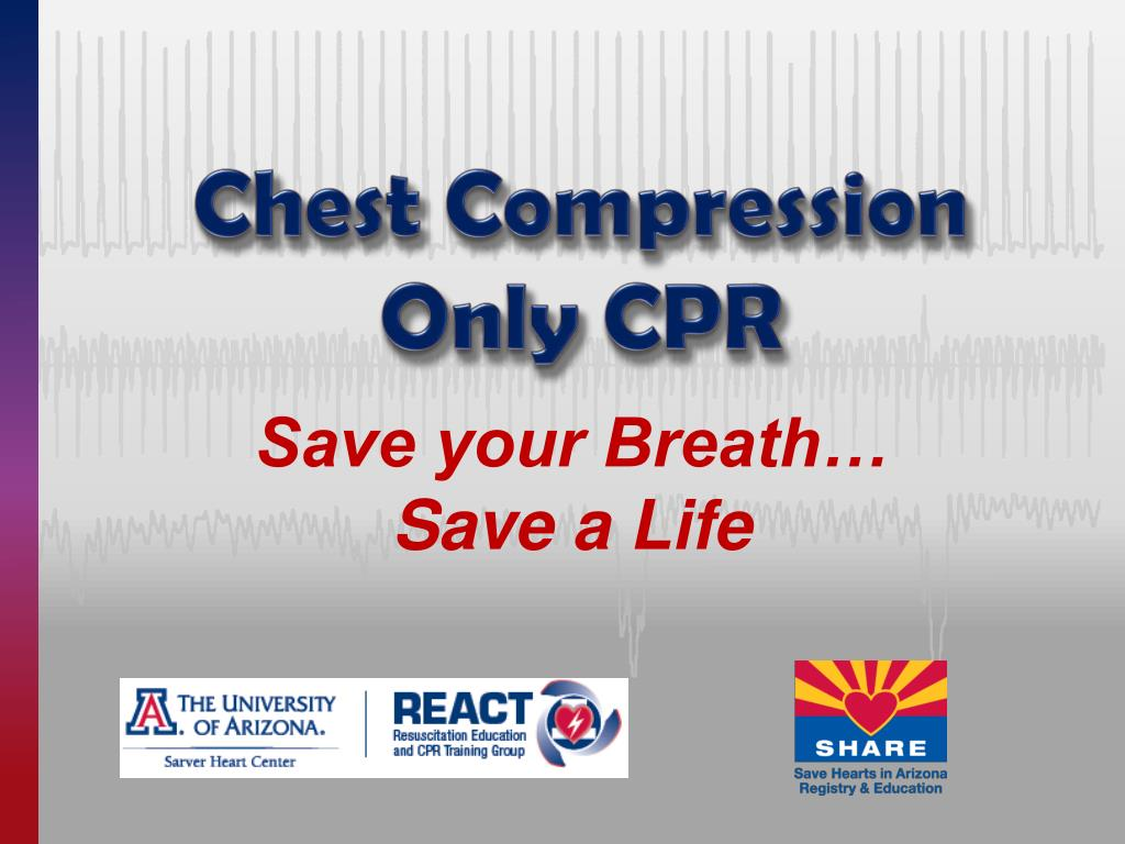 chest compression only cpr l.