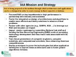 iaa mission and strategy